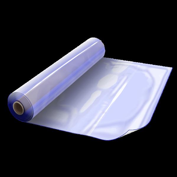 PVC weich 80+-5 Sh.A glasklar