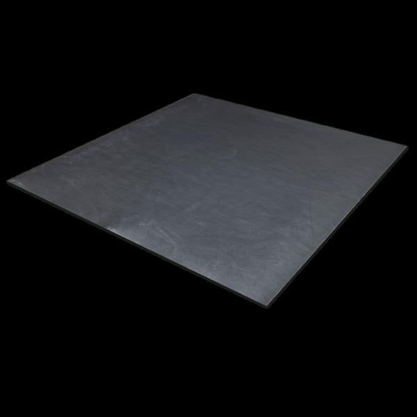 Kunststoffe-PTFE 25 % Kohle schwarz-2mm