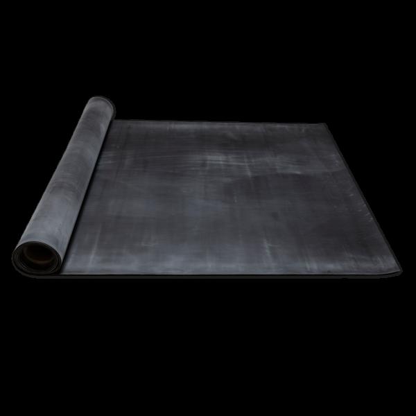Elastomere-Gummi-FKM 1A, 70+-5 Sh.A schwarz-2,5mm