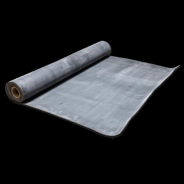 Elastomere-Gummi-EPDM 60, 60+10-5 Sh.A schwarz 1 Einlage-5mm