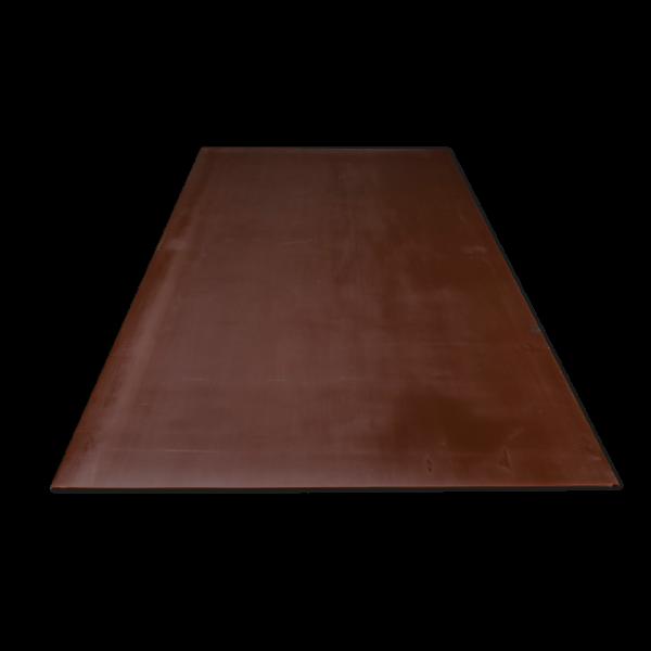 Kunststoffe-PUR-Polyurethan D44, 72+-5 Sh.A, braun
