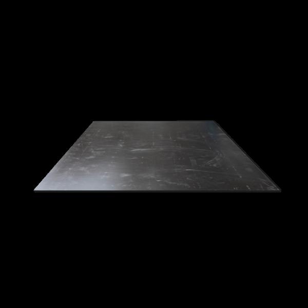 Faserweichstoffe-Dichtungswerkstoffe-Isolationswerkstoffe-ABS schwarz, matt/matt-3mm