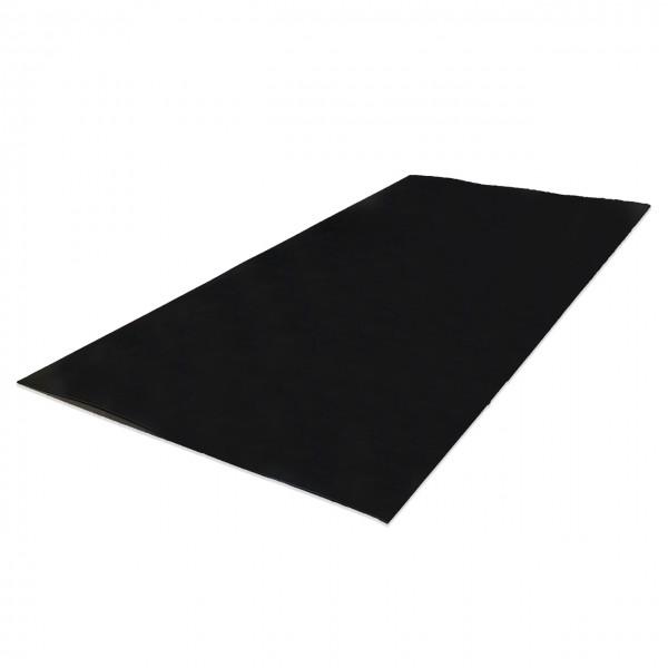 Faserweichstoffe-Dichtungswerkstoffe-Isolationswerkstoffe-Polyethylen-hart-schwarz-3mm