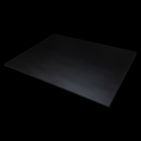 PVC hart schwarz