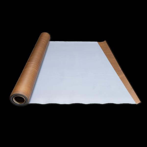Kunststoffe-PTFE einseitig weiß, einseitig geätzt-0,21mm